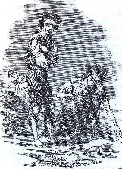 The Great Famine killed over a million people, and caused a massive diaspora of the Irish people. The British government's response came only after the potato crop failed for two years. The British officials decided to only give relief to those who would work on building roads to nowhere, even though many were too weak from famine.